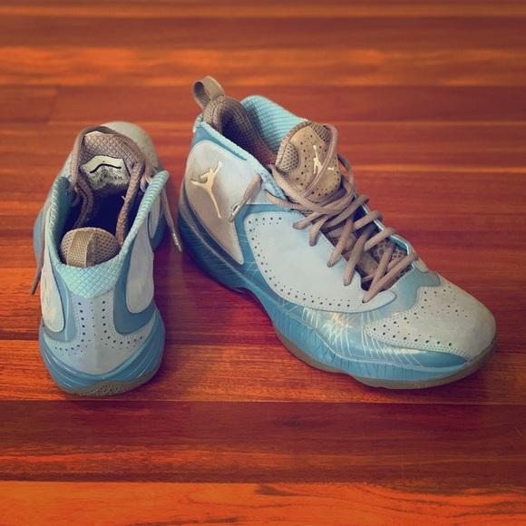 Jordan Shoes | Suade Carolina Blue